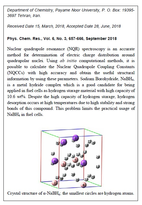 Study of Dehydrogenation of Pressure-induced NaBH4 Structures Using Calculated NQCC Parameters