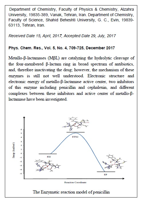 Quantum Mechanical Approach for the Catalytic Mechanism of Dinuclear Zinc Metallo-β-lactamase by Penicillin and Cephalexin: Kinetic and Thermodynamic Points of View